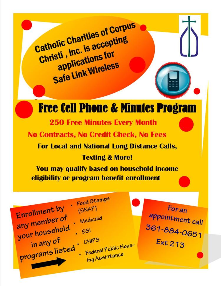 SafeLink Wireless Free Cell Phone & Minutes Program | Catholic ...